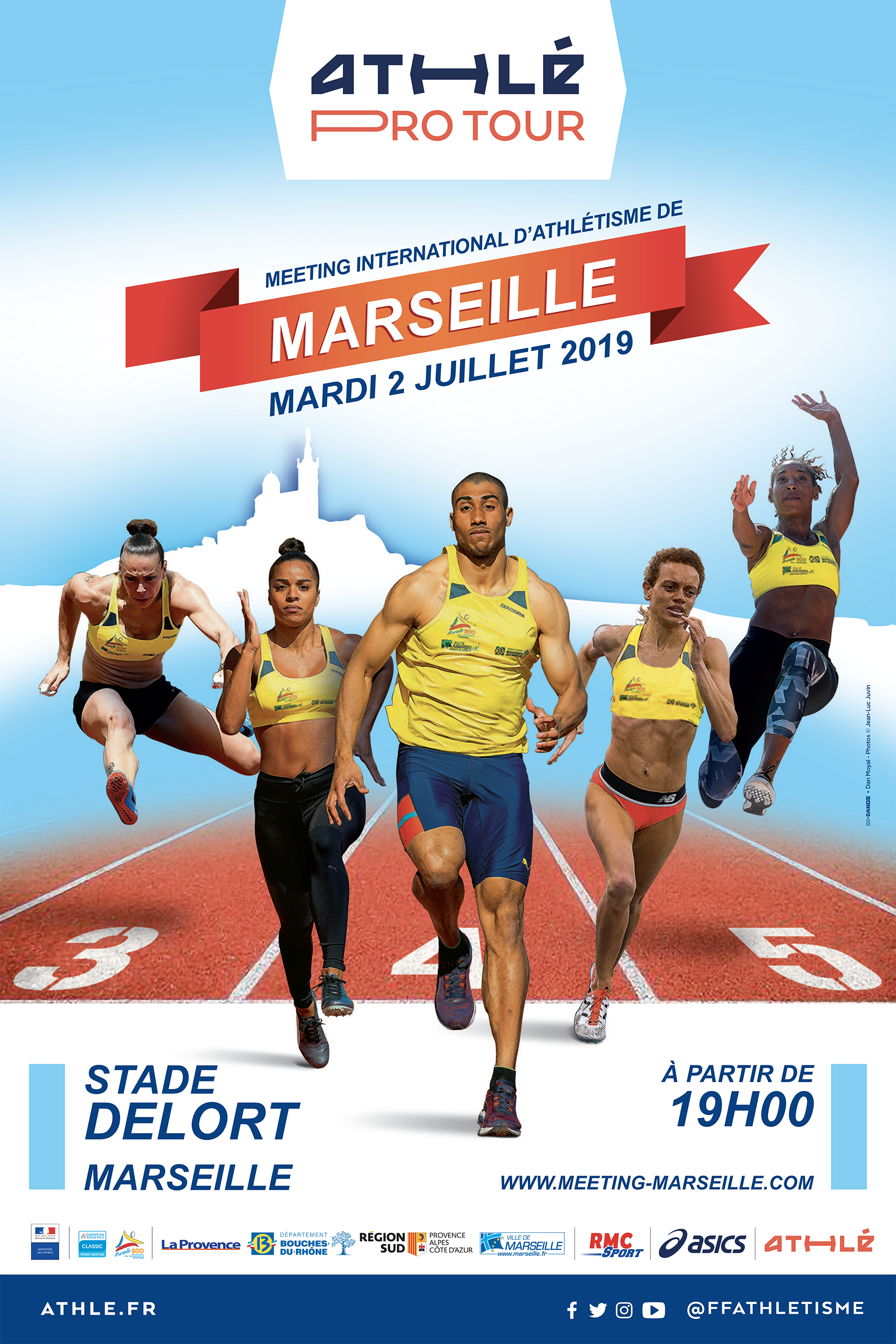 Tickets are available now! - Meeting d'Athlétisme de Marseille